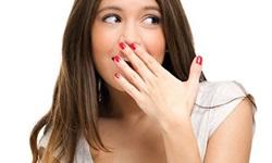 mau hálito garganta tratamento
