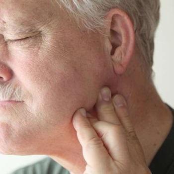 Dor no maxilar ouvido e pescoço